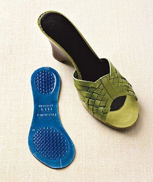 Sandal with Dr. Scholl's for Her Open Shoe Insole