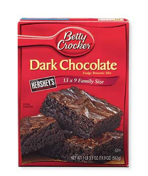 Betty Crocker Dark Chocolate