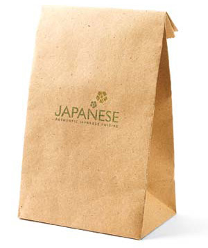 Japanese food bag