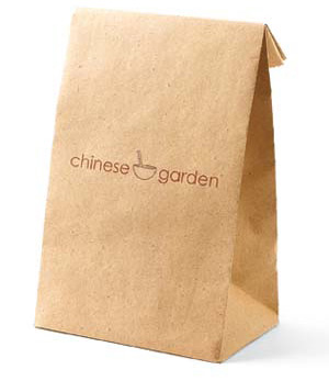 Chinese food bag