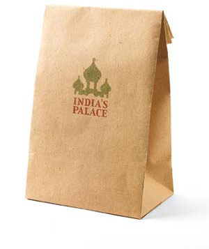 Indian food bag