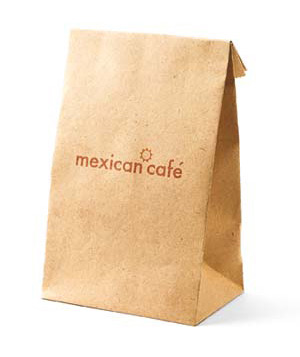Mexican food bag