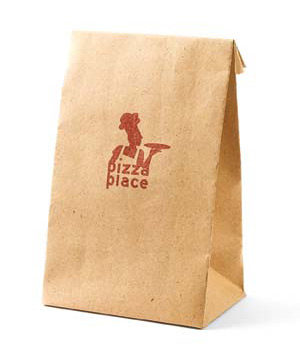Pizza takeout bag