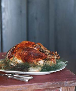 Turkey with Molasses Butter
