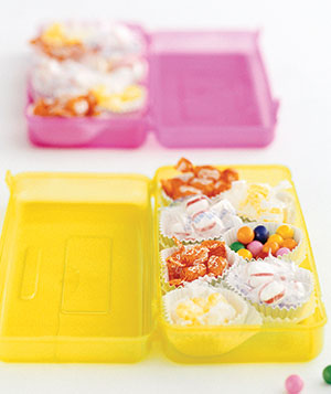 Cupcake Liner Candy Holders