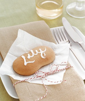 Cookie placecard