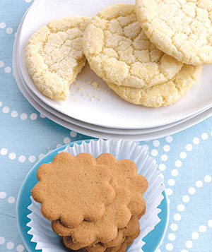 Sugar & gingerbread cookies
