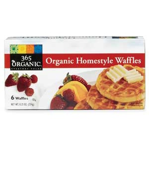 Whole Foods 365 Organic Homestyle Waffles