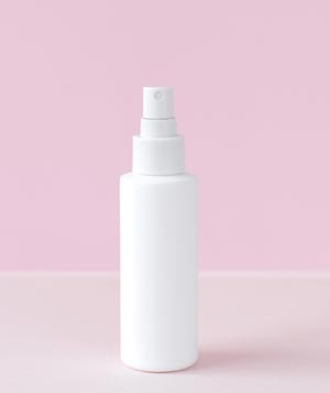 White spray bottle