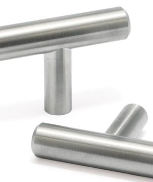 Stainless-steel knobs