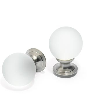 Crystal-ball knobs