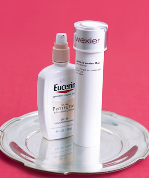 Eucerin Everyday Protection Face Lotion SPF 30 and Patricia Wexler M.D. Oil-Free Hydrator SPF 30