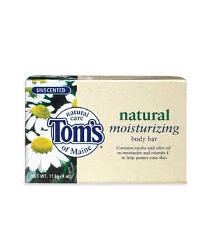 Tom's of Maine Natural Care Moisturizing Body Bar