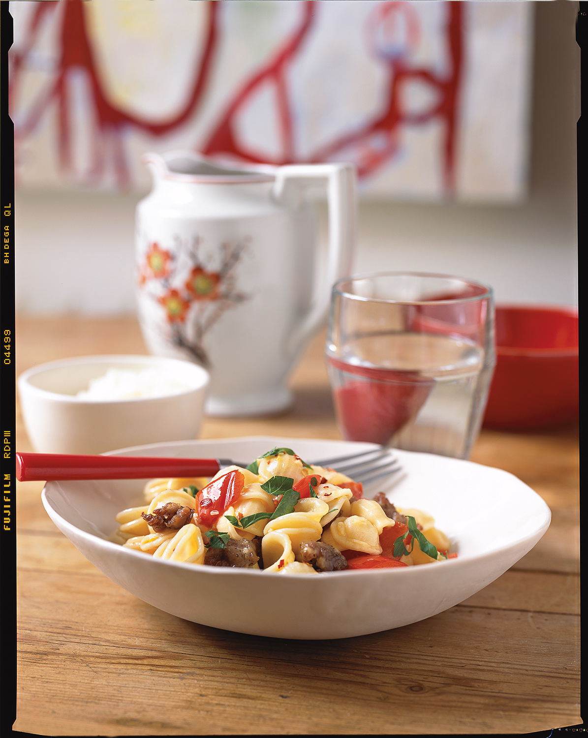 pasta-with-olive-oil-garlic-crushed-red-pepper