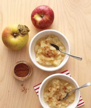 add-applesauce-food