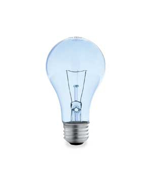 Silver-tipped bulb