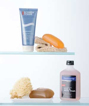 Men's shower products