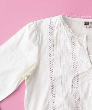 Discolored White Shirt