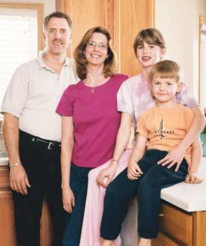 Beth Jorgensen and family