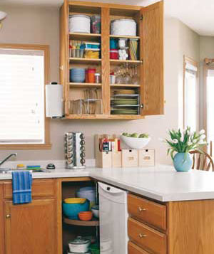 Charming An Organized Kitchen