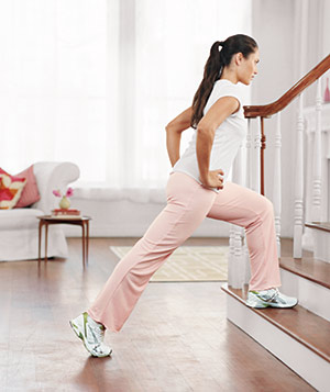 15-Minute Stairs Workout