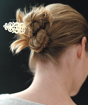 Gorgeously Simple Hairstyles Real Simple