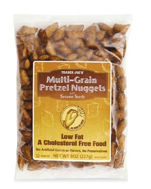 Trader Joe's Multi-Grain Pretzel Nuggets with Sesame Seeds