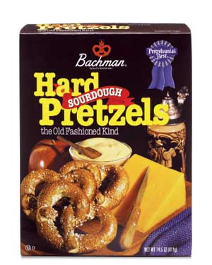 Bachman Hard Sourdough Pretzels