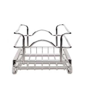 Double Pull-Out Wire Basket