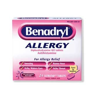 Benedryl allergies