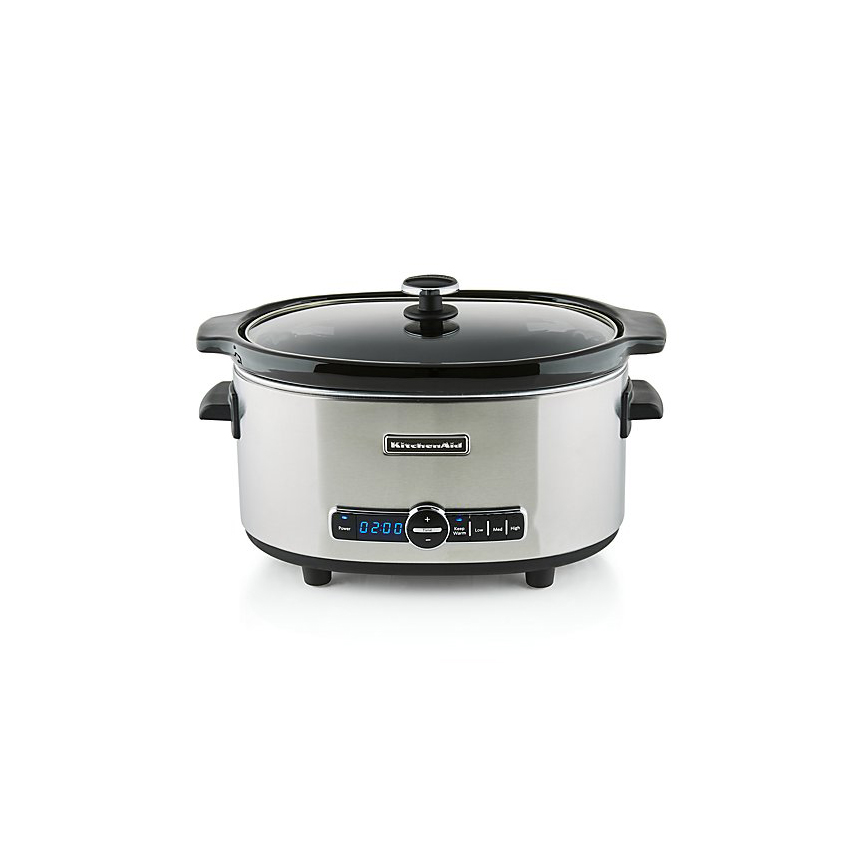 Best Slow Cooker with an LED Display: KitchenAid 6-Quart Slow Cooker