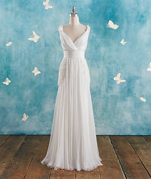 Alberta Ferretti wedding gown