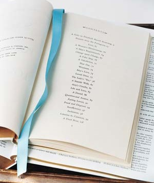 Book with wedding vows