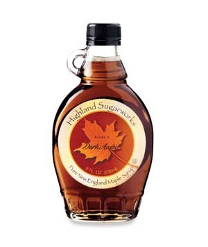 Highland Sugarworks Grade A Dark Amber Maple Syrup