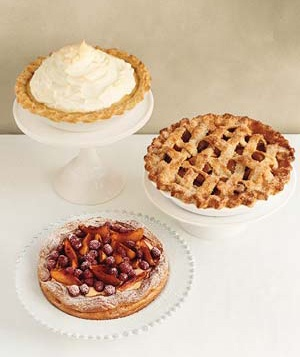 Assortment of pies