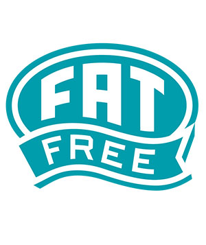 Fat free label