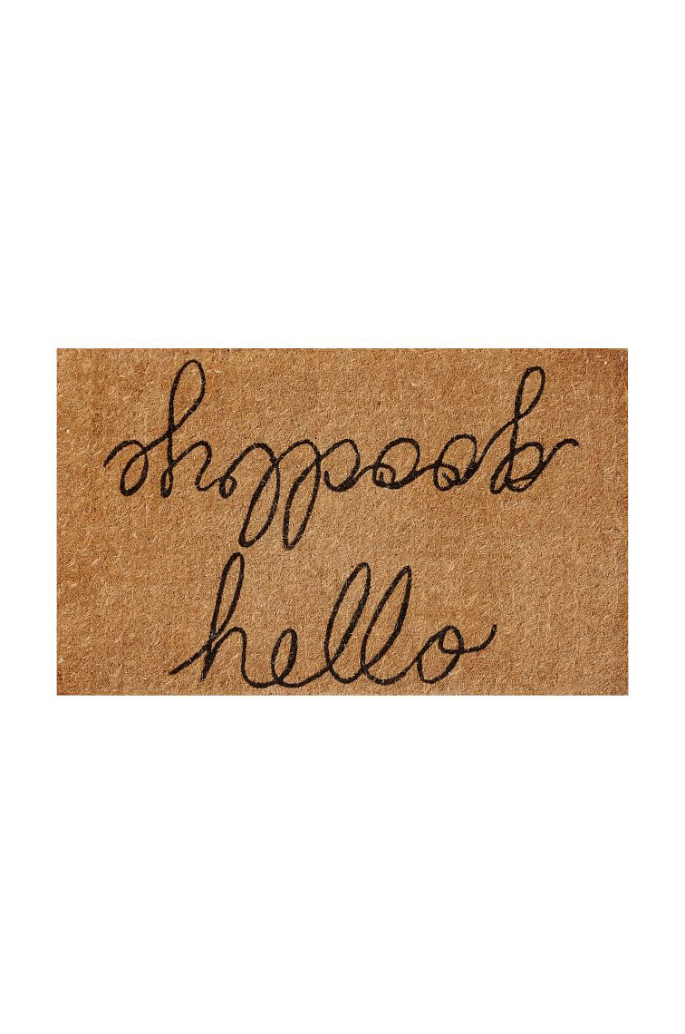 Hello/Goodbye Doormat