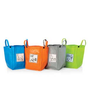 Recycling Bags, Mail Folders, Paper Boxes