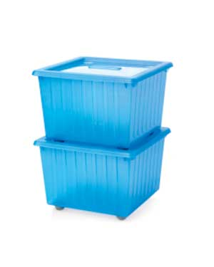 Vessla rolling storage crates