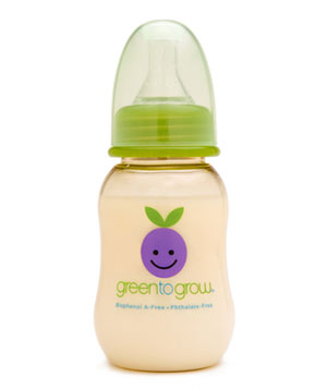 Green to Grow BPA-Free Bottle