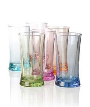 Duraclear Iced-Tea Glasses