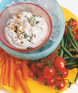 Yogurt, Dill, And Walnut Dip