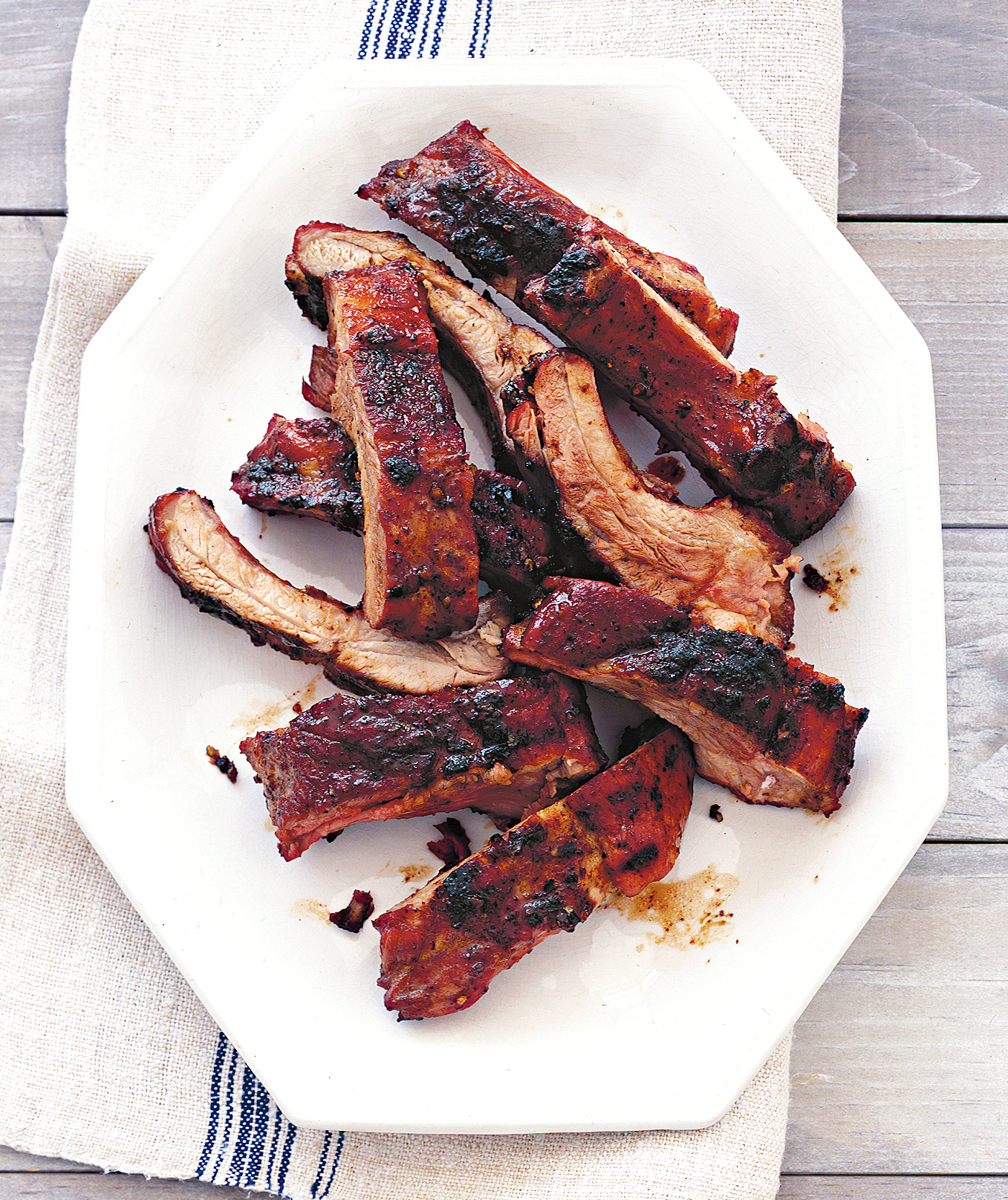 Dry-Rubbed Baby-Back Ribs