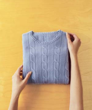 How to Fold a Sweater Step 4