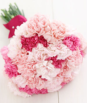 Carnation flower bouquet