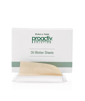 Proactiv Solution Oil Blotter Sheets