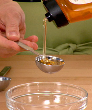 How To: Measure Sticky Ingredients
