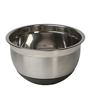 Libertyware 3-Piece Deluxe Non-Slip Stainless Steel Mixing Bowl Set