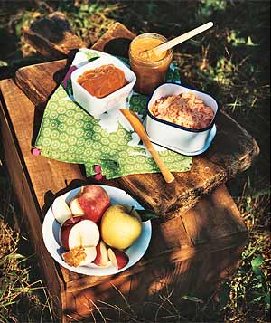 Picnic snacks