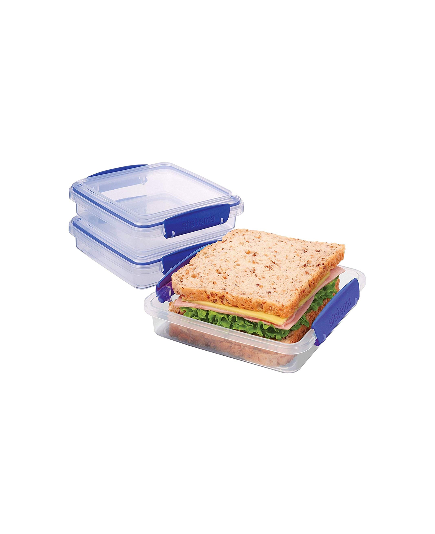 Packing Sandwiches Sistema KLIP IT Collection Sandwich Box